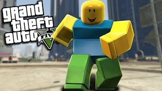 GTA 5 Mods - THE ULTIMATE ROBLOX MOD (GTA 5 PC Mods Gameplay)