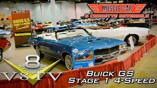 1970 Buick GS 455 Stage 1 4-Speed Convertibles at Muscle Car & Corvette Nationals Video V8TV