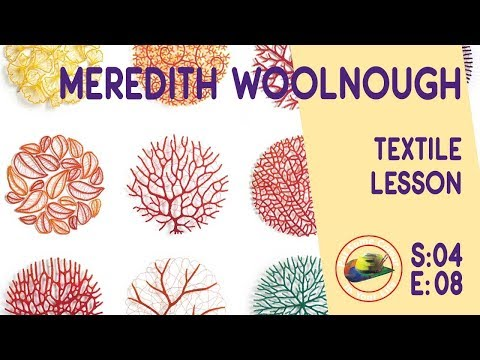 Fine art tips with Amazing Free Textile Lessons with Meredit