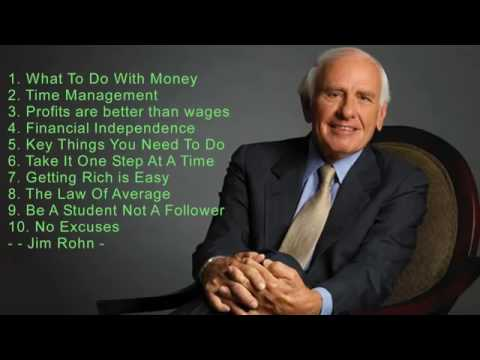 Top 10 Best Personal Development Advice Jim Rohn