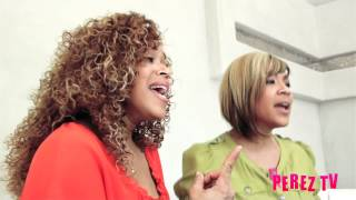 "Mary Mary - ""Walking"" & ""Shackles"" (Perez Hilton Acoustic Performance)"
