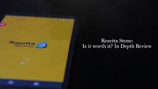 Rosetta Stone: Is it worth it?