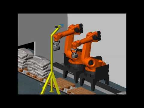 Roboter Depalettierung Scanner Rohmann Automation GmbH