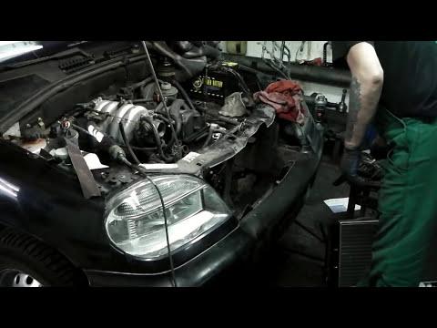 NIVA CHEVROLET  замена радиатора охлаждения двс