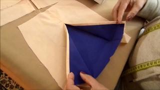 Como costurar fendas em saias