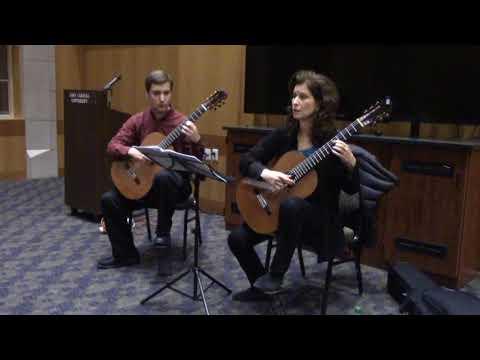 Masterclass with Sharon Isbin - Julia Florida, Agustín Barrios