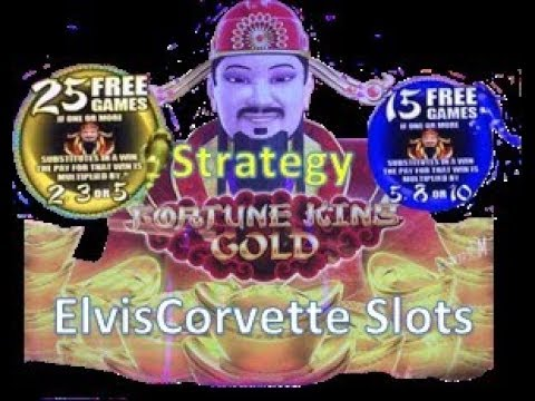 Fortune King Gold - Big Wins - $2.50 Bet Using My 25/15 Strategy