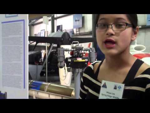 Maya Lee, Project: OutSTANDing Origami, Spring Ridge Middle School