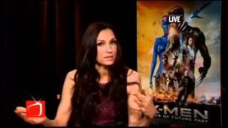 Actress Famke Janssen Talks X Men Days of Future Past