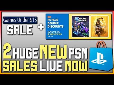 2 HUGE NEW PSN STORE SALES - GREAT PS4 GAME DEALS + FREE STUFF ON PSN!
