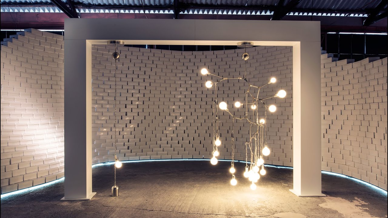 Lindsey Adelman creates quivering tree-like chandelier for Nike ...