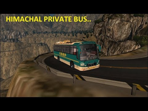Himachali Indian private bus on Chamba to Dalhousie route  ( ETS2 )