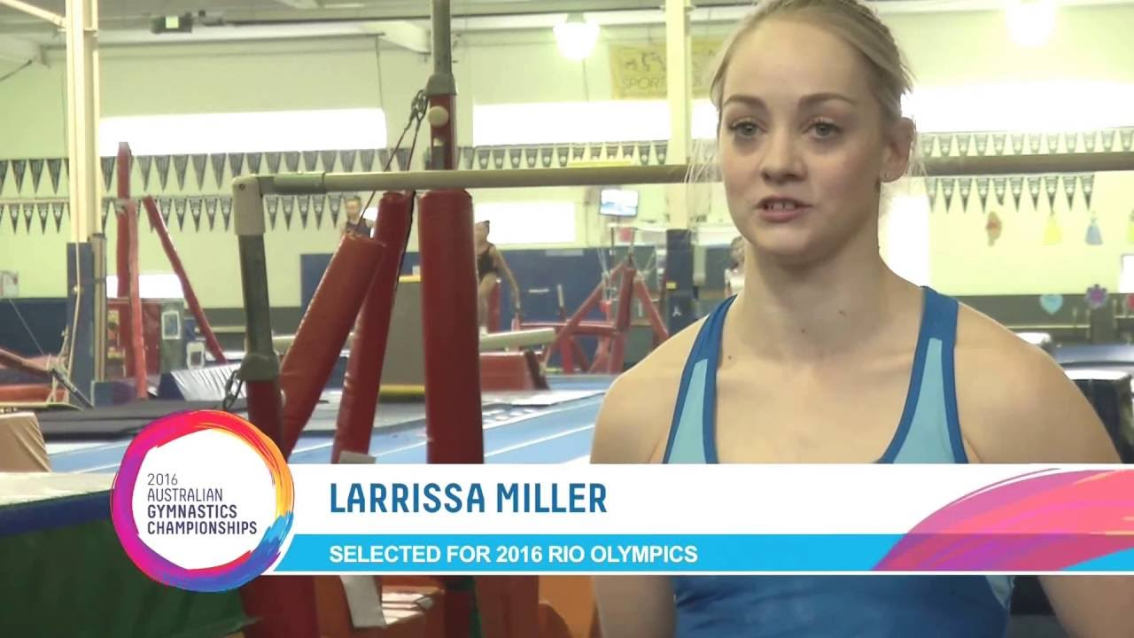 Interview with Larrissa Miller - Member of the 2016 Australian Olympic Team
