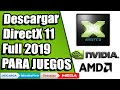 COMO DESCARGAR  DIRECTX 11 FULL PARA WINDOWS [MEGA] [MEDIAFIRE] BIEN EXPLICADO  2019