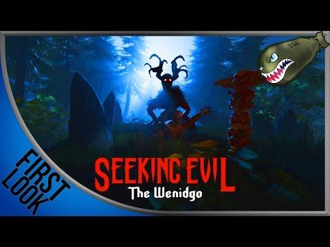 Seeking Evil: The Wendigo | Jump Scares, Creepy Game (First Looks) |