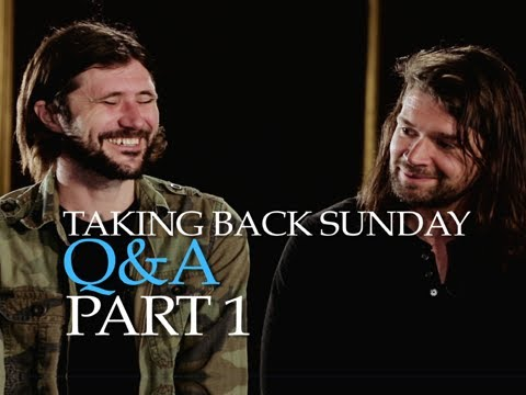 Taking Back Sunday - The PV Fan Q&A Hosted By The Used's Bert McCracken (Part 1)