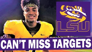 LSU's Can't Miss 2022 Recruiting Targets