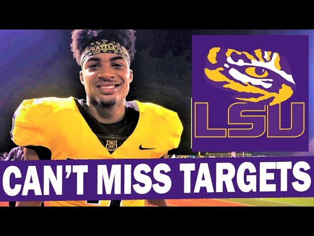 LSU'S 2022 CAN'T MISS RECRUITS, LSUODYSSEY.COM VS MARK ROGERS: THE VOICE OF CFB