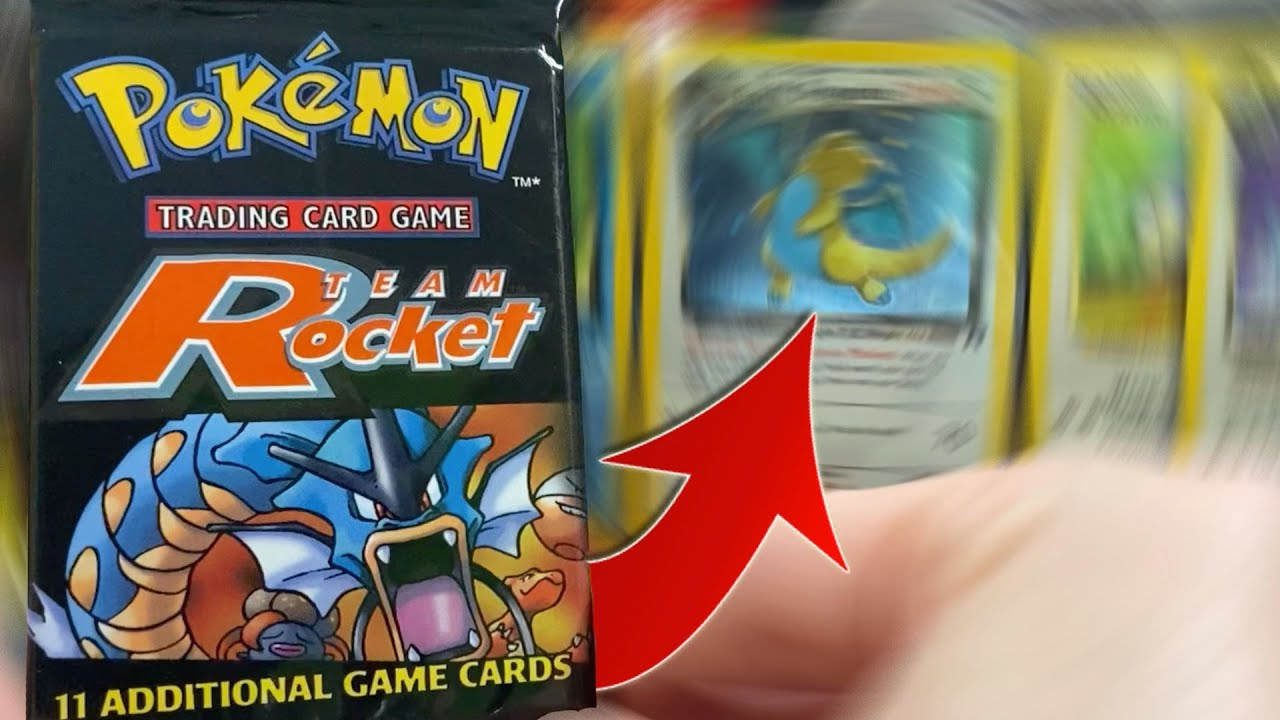 Team Rocket Pokemon Packs vs Error Non-Holo Dragonite...