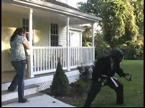 Karate Man Home Security