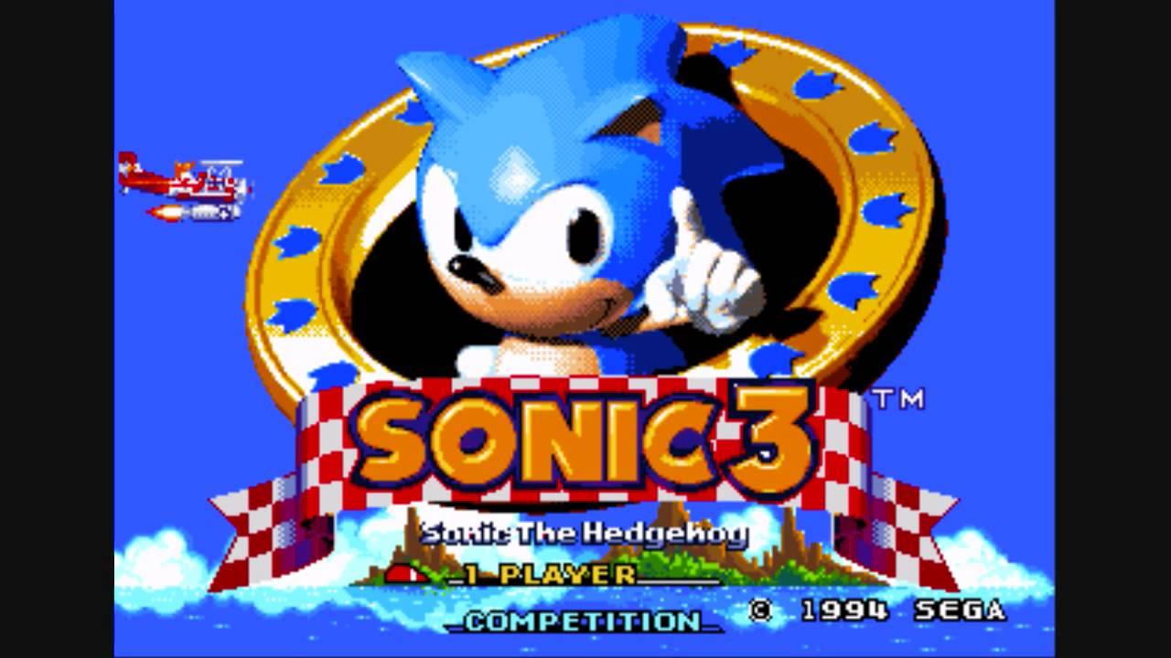 Sonic The Hedgehog 3 Ost Title Screen Youtube