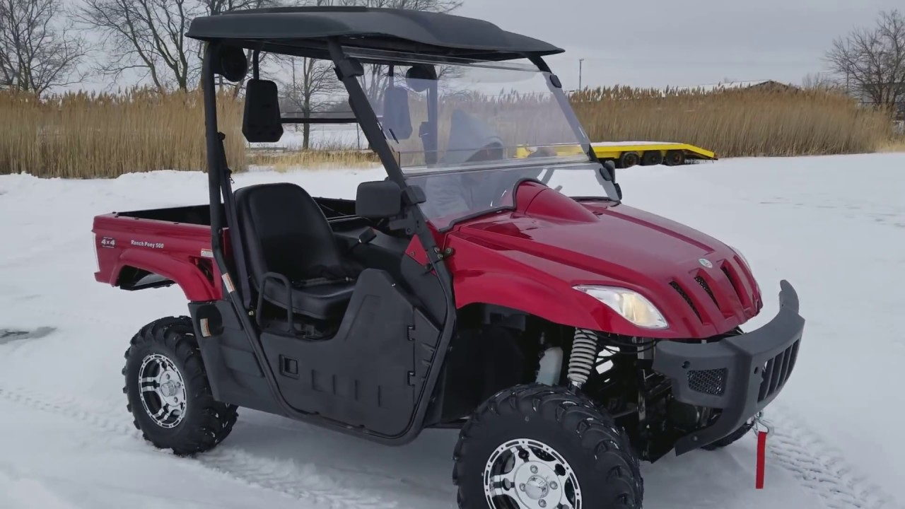 500cc Ranch Pony UTV Utility Vehicle Off-road On Sale @ SaferWholesale com