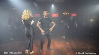 FEROCITY DANCE COMPANY Bachata Dance Performance @ THE SALSA ROOM