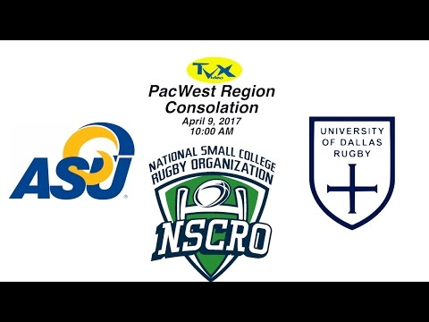 PacWest Regionals-Consolation Game, NSCRO Rugby