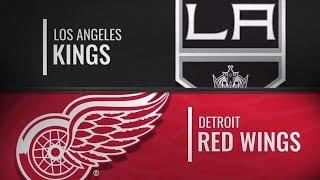 Los Angeles Kings vs Detroit Red Wings   Dec.10, 2018 NHL   Game Highlights   Обзор матча