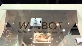 Ecovacs WinBot 7 ablaktiszító robot bemutató videó @ CES 2013 | Tech2.hu