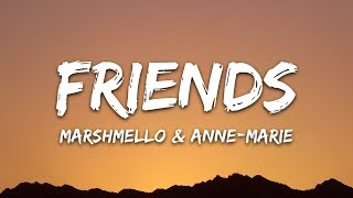 Gambar cover Marshmello & Anne-Marie - FRIENDS (Lyrics)