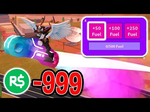 SPENDING ALL MY ROBUX ON ROCKET FUEL! (1,000+) | Roblox Jailbreak New Update