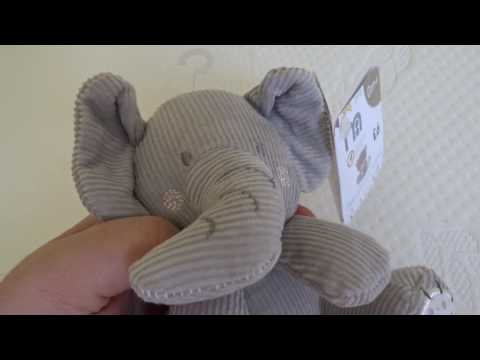 Mothercare Teddy's Toy box discovering textures Elephant