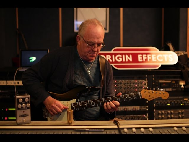 Robbie McIntosh Origin Effects SlideRIG-CD Demo