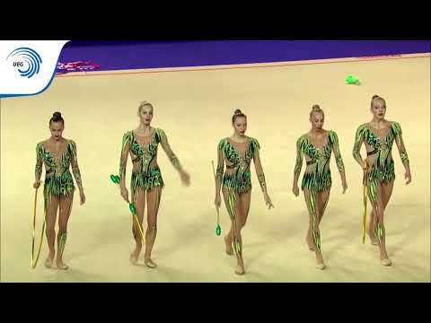 Russia - 2016 Rhythmic Europeans, 3 Clubs And 2 Hoops Final