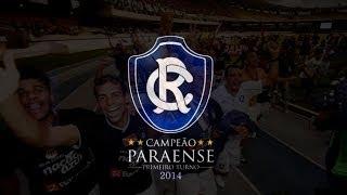 Clube do Remo Campeão Taça cidade de Belém 2014 - 1º Turno