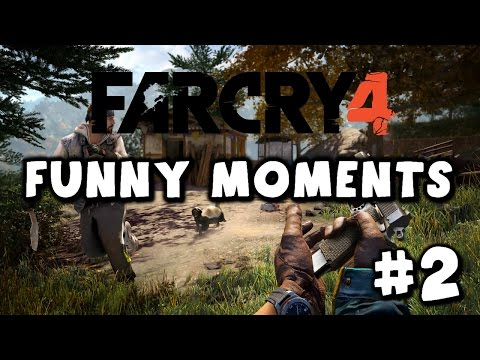 !?THE HELI SEATS 2!? Far Cry 4 Coop (PS4) w/ J-ROD