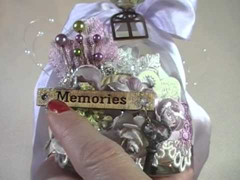 Altered Shabby Chic/Mixed Media Home Dcor Projects - YouTube