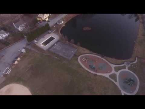 Drone Shot Over Highland Falls NY