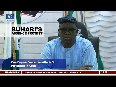 News@10: Gov Fayose Condemns Attack On Protesters In Abuja 16/08/17 Pt 3