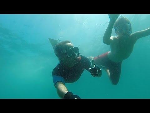 Snorkeling in Orange County California GoPro Hero 4