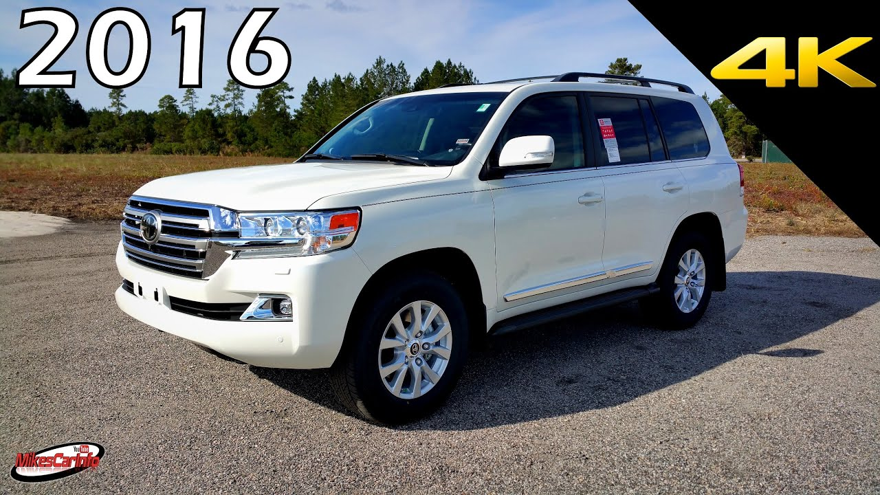 2016 2017 toyota land cruiser ultimate in depth look in 4k youtube. Black Bedroom Furniture Sets. Home Design Ideas