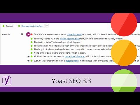 Release Yoast SEO 3.3 - 동영상