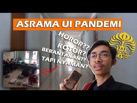 INTIP KAMAR ASRAMA MAHASISWA UI || Asrama Untuk Anak Rantau?!