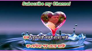 E Jibon Keno Eto Rong Bodlay By Kumar Sanu (For Sale) Karaoke by ALI