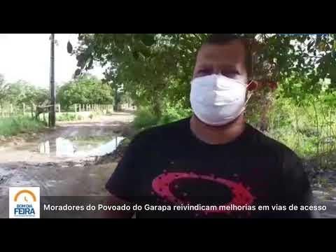 Moradores do Povoado do Garapa reivindicam melhorias em vias de acesso