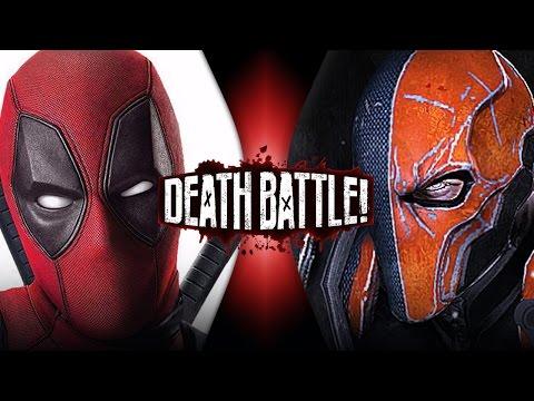 Deadpool VS Deathstroke (Marvel VS DC)   DEATH BATTLE!