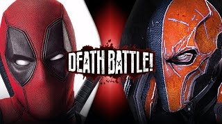 Deadpool VS Deathstroke (Marvel VS DC) | DEATH BATTLE! thumbnail