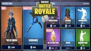 FORTNITE ITEM SHOP TODAY 20 JANUARY | NEW SKIN ICE QUEEN, REAPER IS BACK! | FORTNITE DAILY SHOP