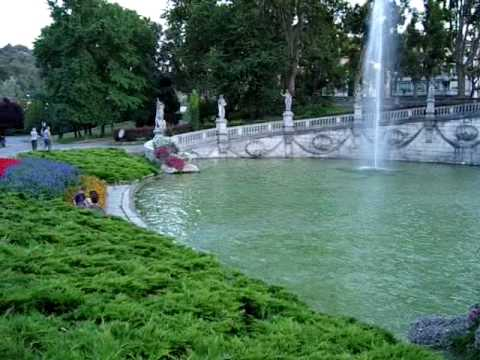 an evening in Valentino Park (Torino - Italy)